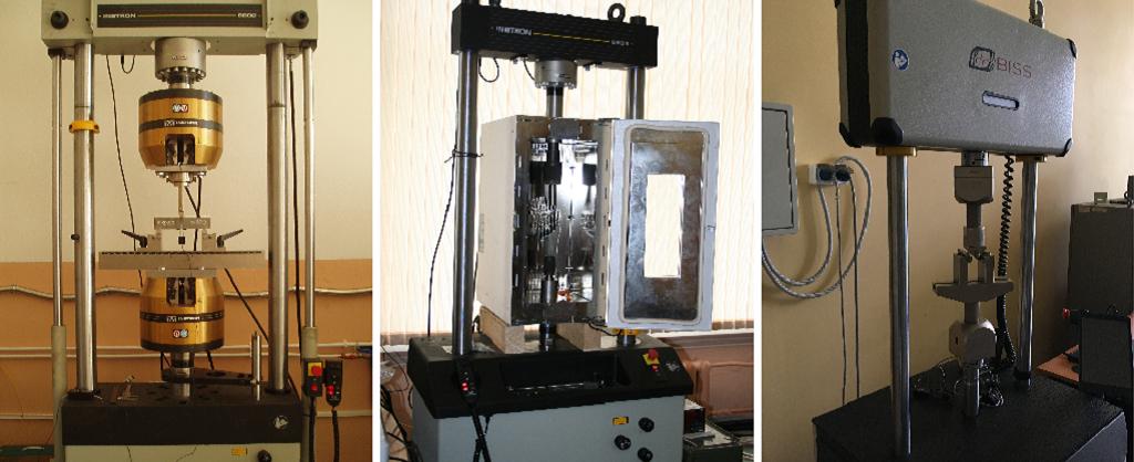 Универсальные сервогидравлические разрывные машины INSTRON 8801, INSTRON 8802 и INSTRON 8806, машина для испытаний материалов BiSS, модель Nano
